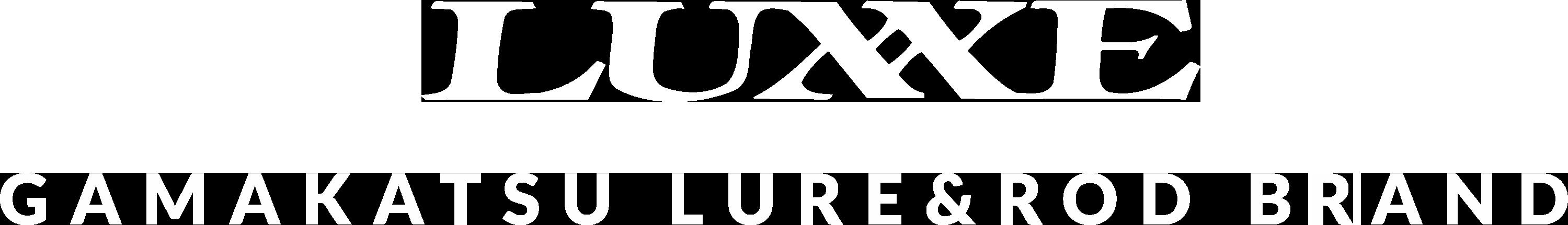 LUXXE GAMAKATSU LURE & ROD BRAND